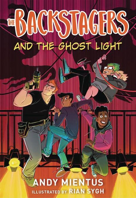 BACKSTAGERS ILLUS SC NOVEL VOL 01 GHOST LIGHT
