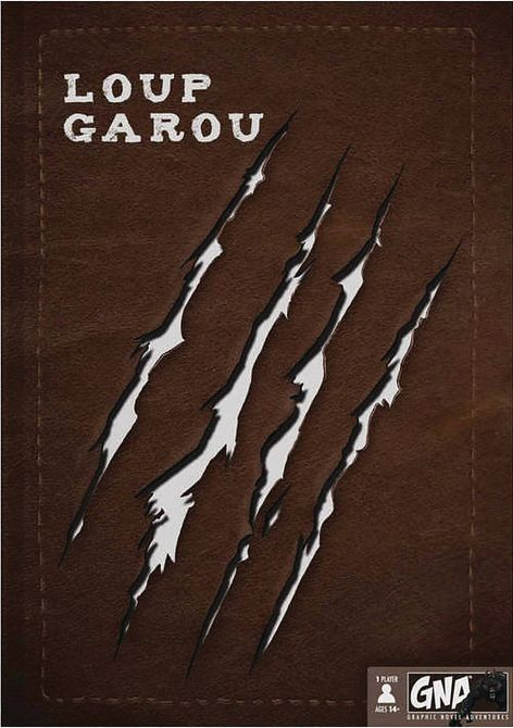 LOUP GAROU GRAPHIC NOVEL ADVENTURE HC