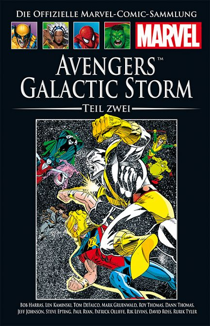 HACHETTE PANINI MARVEL COLLECTION 184: Avengers: Avengers Galactic Storm, Teil 2 #184