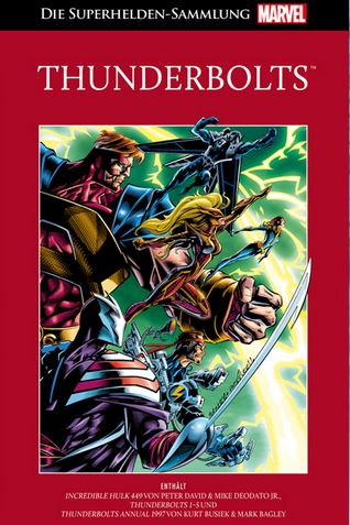 HACHETTE DIE MARVEL SUPERHELDEN-SAMMLUNG 82: THUNDERBOLTS #82