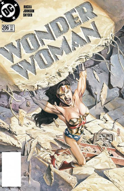 DOLLAR COMICS WONDER WOMAN #206