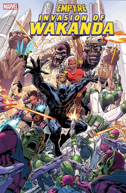 EMPYRE INVASION OF WAKANDA #1