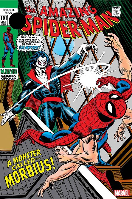 AMAZING SPIDER-MAN FACSIMILE EDITION #101