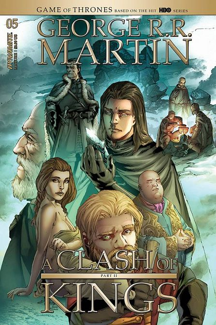 GEORGE RR MARTIN A CLASH OF KINGS #5