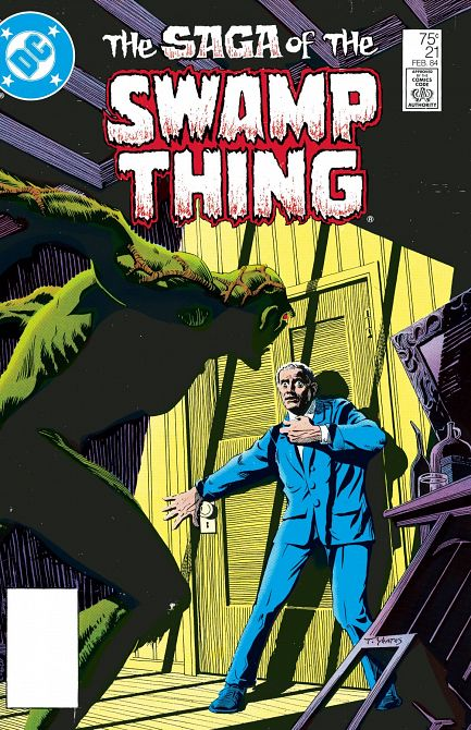 DOLLAR COMICS SAGA OF THE SWAMP THING #21