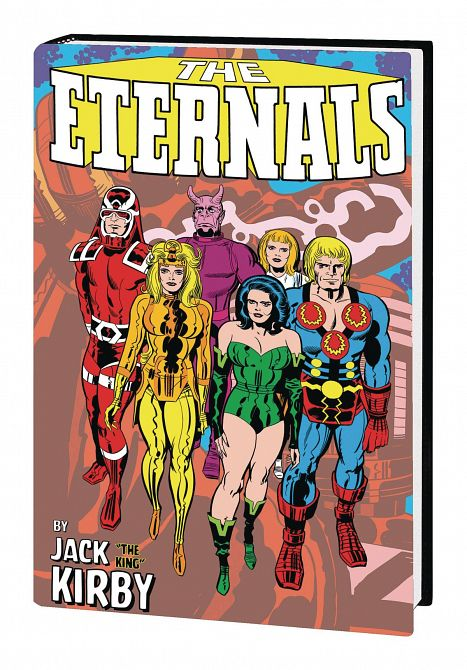 ETERNALS BY JACK KIRBY MONSTER-SIZE HC