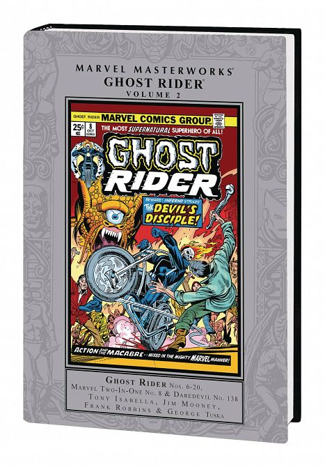 MARVEL MASTERWORKS GHOST RIDER HC VOL 02