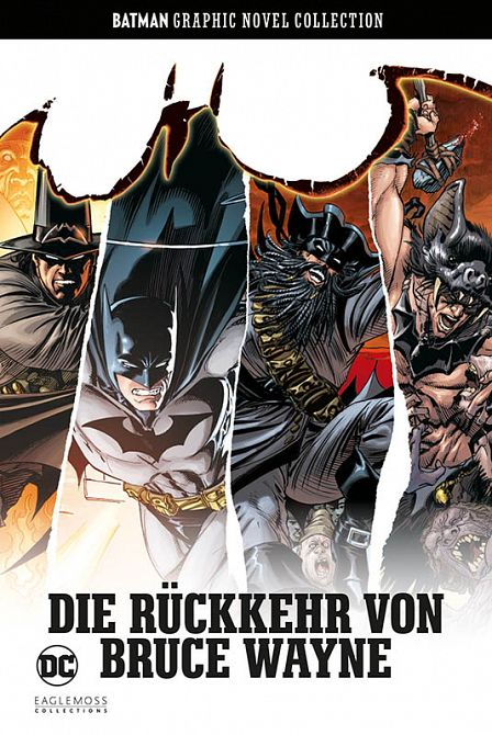BATMAN GRAPHIC NOVEL COLLECTION 38: DIE RÜCKKEHR VON BRUCE WAYNE #38