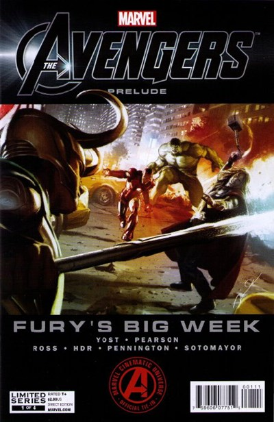MARVELS AVENGERS PRELUDE FURYS BIG WEEK (2012)
