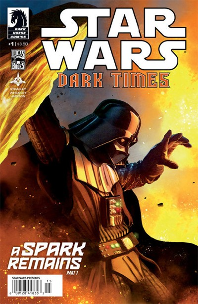 STAR WARS DARK TIMES SPARK REMAINS (2013)