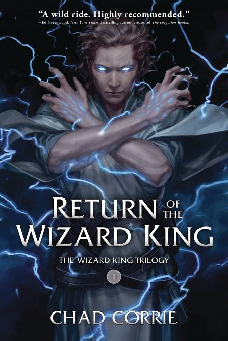 RETURN OF THE WIZARD KING TP VOL 01 PROSE NOVEL