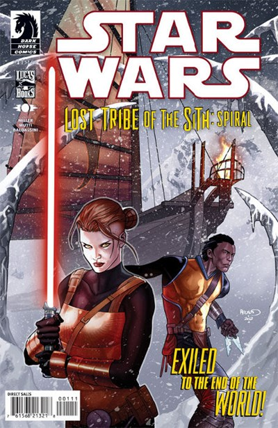 STAR WARS LOST TRIBE OF THE SITH - SPIRAL (2012)