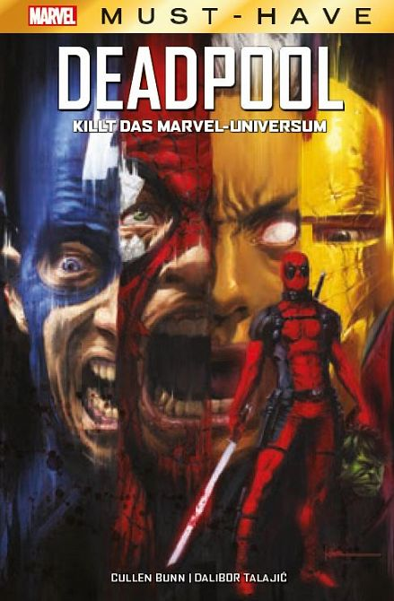 MARVEL MUST-HAVE: DEADPOOL KILLT DAS MARVEL-UNIVERSUM (HC)