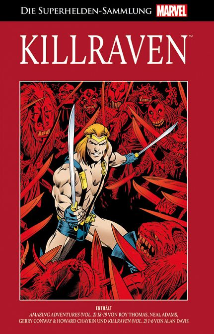 HACHETTE DIE MARVEL SUPERHELDEN-SAMMLUNG 90: KILLRAVEN #90