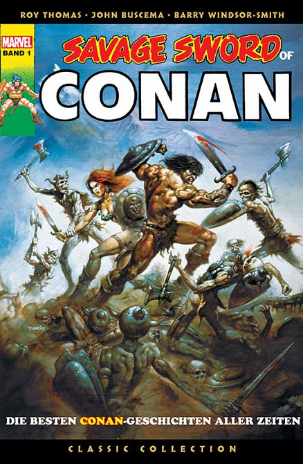 SAVAGE SWORD OF CONAN – CLASSIC COLLECTION #01