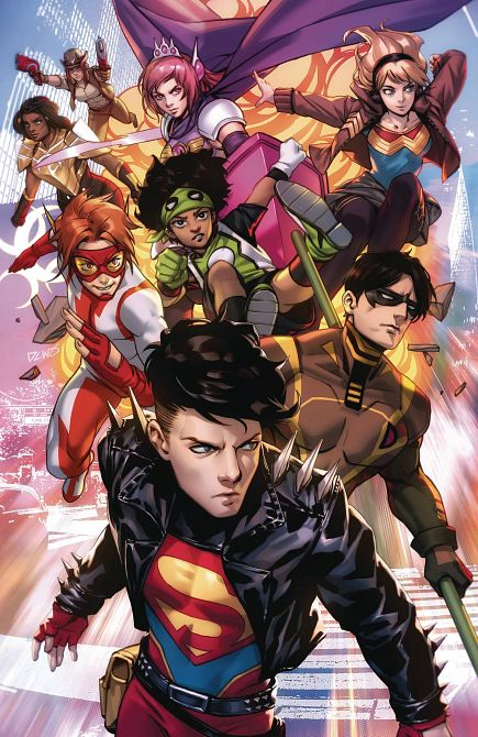 YOUNG JUSTICE #18