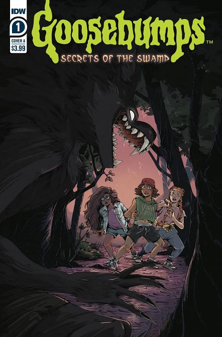 GOOSEBUMPS SECRETS OF THE SWAMP #1