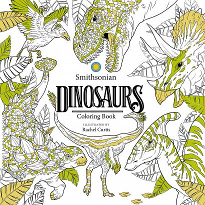 DINOSAURS SMITHSONIAN COLORING BOOK
