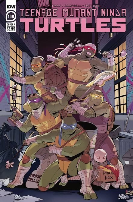 TEENAGE MUTANT NINJA TURTLES ONGOING #109
