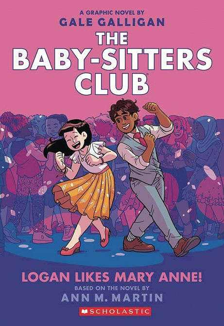 BABY SITTERS CLUB COLOR ED GN VOL 08 LOGAN LIKES