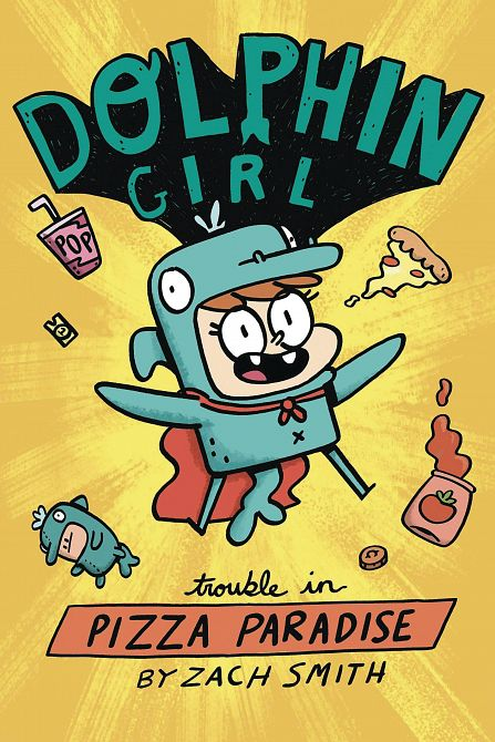 DOLPHIN GIRL YA GN VOL 01 TROUBLE IN PIZZA PARADISE