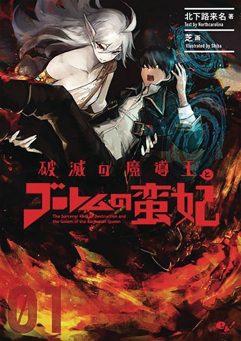 SORCERER KING OF DESTRUCTION LIGHT NOVEL SC VOL 01