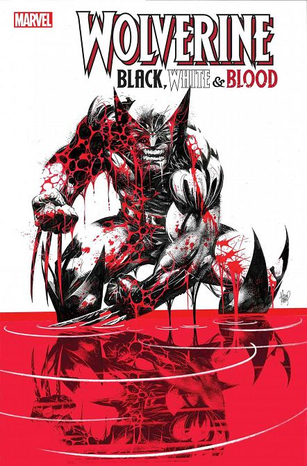 WOLVERINE BLACK WHITE BLOOD #1