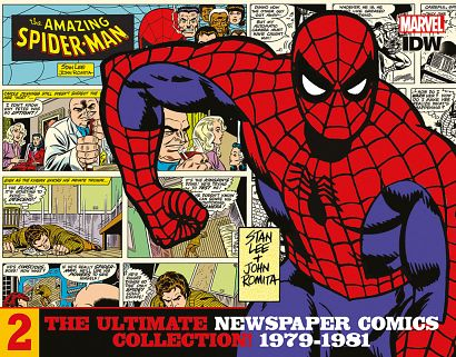 SPIDER-MAN NEWSPAPER COMIC COLLECTION  (HC) #02