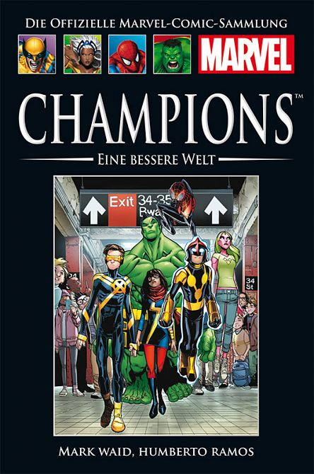 HACHETTE PANINI MARVEL COLLECTION 197: CHAMPIONS: EINE BESSERE WELT #197