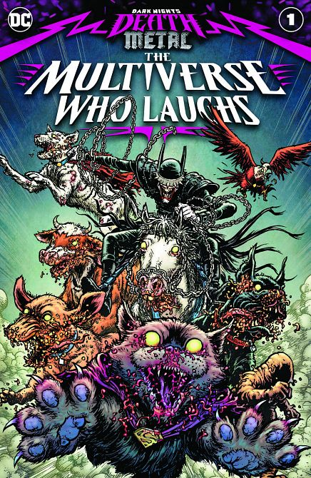 DARK NIGHTS DEATH METAL MULTIVERSE WHO LAUGHS #1