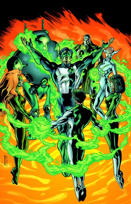 GREEN LANTERN CIRCLE OF FIRE TP NEW EDITION