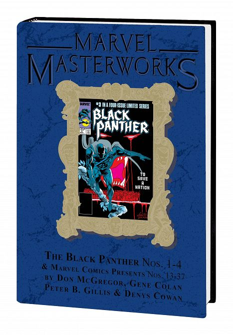 MARVEL MASTERWORKS BLACK PANTHER HC VOL 03 DM VARIANT EDITION 303