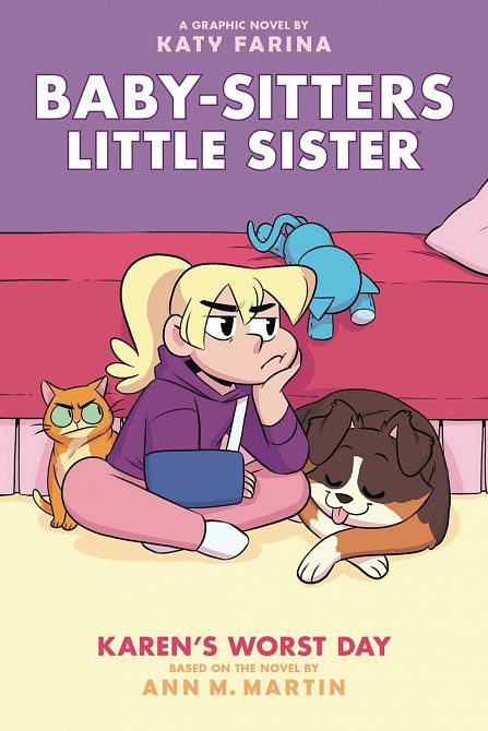BABY SITTERS LITTLE SISTER GN VOL 03 KARENS WORST DAY