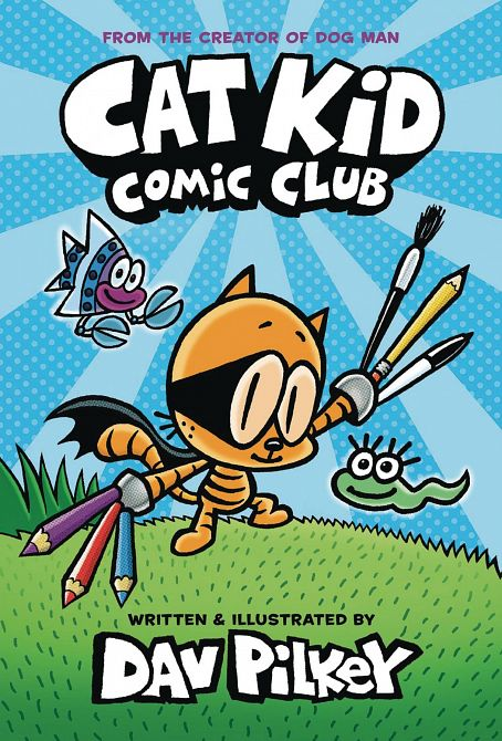CAT KID COMIC CLUB HC GN W DUSTJACKET VOL 01