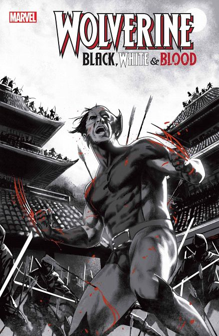 WOLVERINE BLACK WHITE BLOOD #3