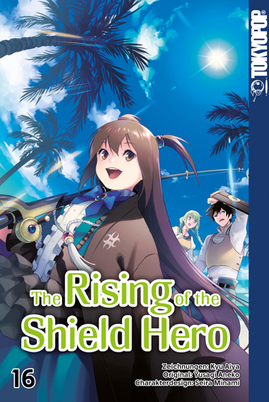 THE RISING OF THE SHIELD HERO #16