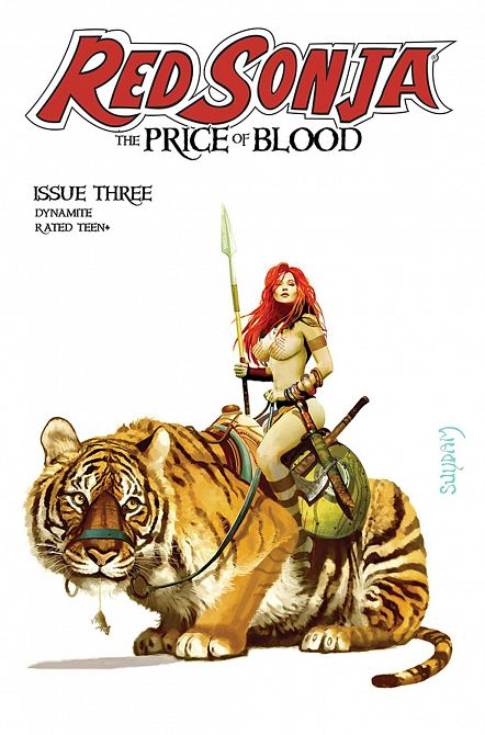 RED SONJA PRICE OF BLOOD #3