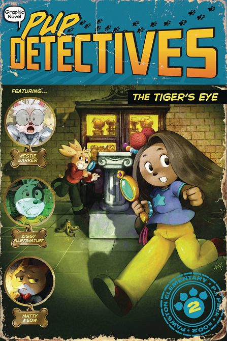 PUP DETECTIVE HC GN VOL 02 TIGERS EYE