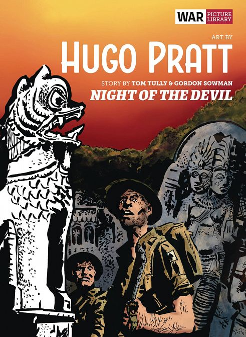 NIGHT OF THE DEVIL WAR PICTURE LIBRARY HC