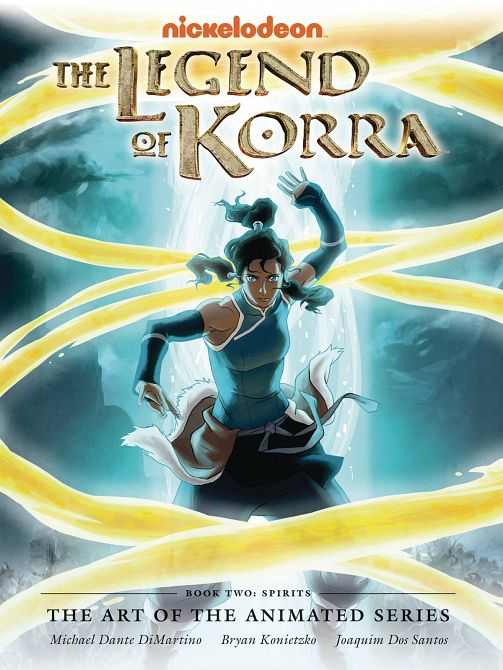 LEGEND KORRA ART ANIMATED DELUXE EDITION HC BOOK 02 SPIRITS 2ND EDITION