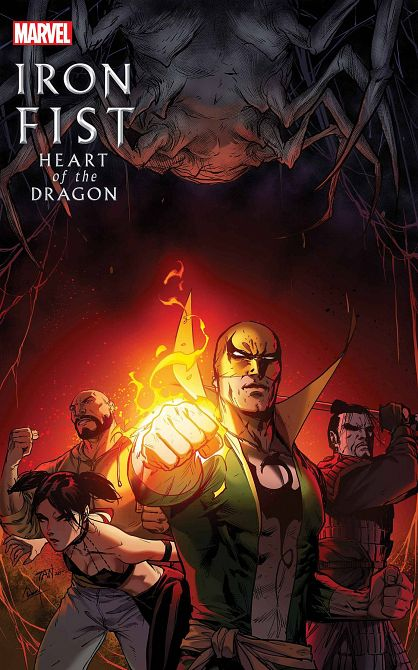 IRON FIST HEART OF DRAGON #4