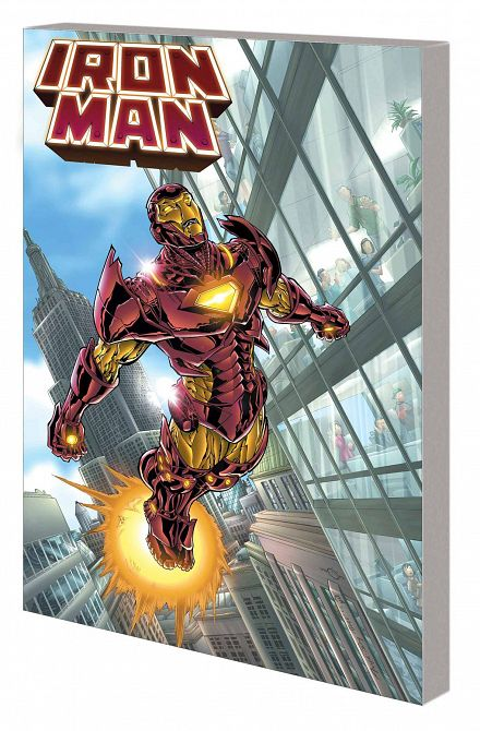 IRON MAN BY GRELL COMPLETE COLLECTION TP