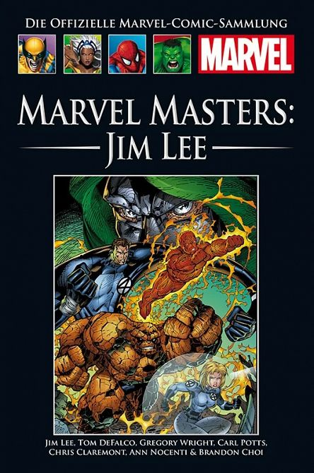 HACHETTE PANINI MARVEL COLLECTION 208: Marvel Masters: Jim Lee #208