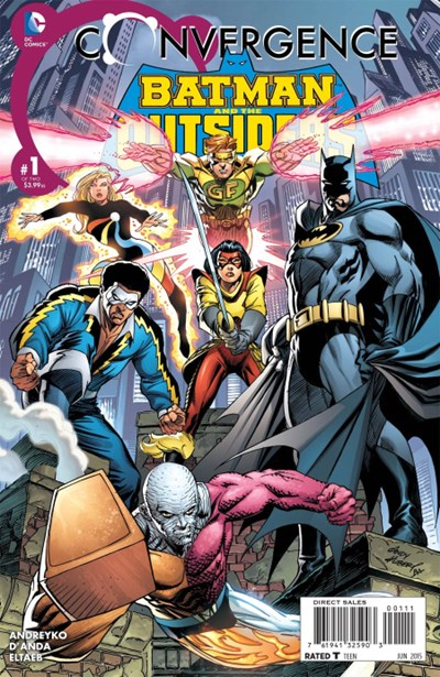 CONVERGENCE BATMAN & THE OUTSIDERS (2015)