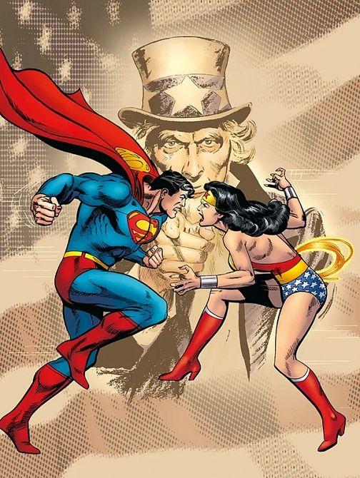 SUPERMAN VS. WONDER WOMAN (HC)