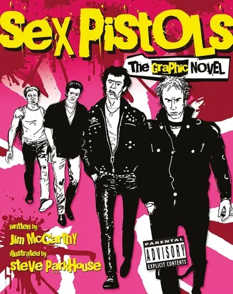 SEX PISTOLS – DIE GRAPHIC NOVEL