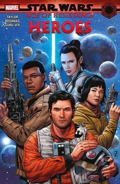 STAR WARS: AGE OF RESISTANCE – HELDEN (HC)