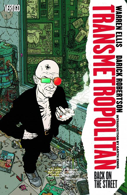 TRANSMETROPOLITAN TP VOL 01 BACK ON THE STREET