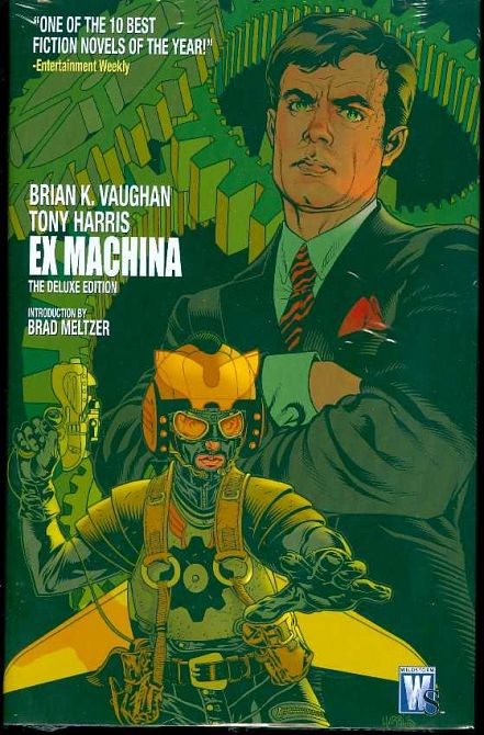 EX MACHINA DELUXE EDITION HC VOL 01