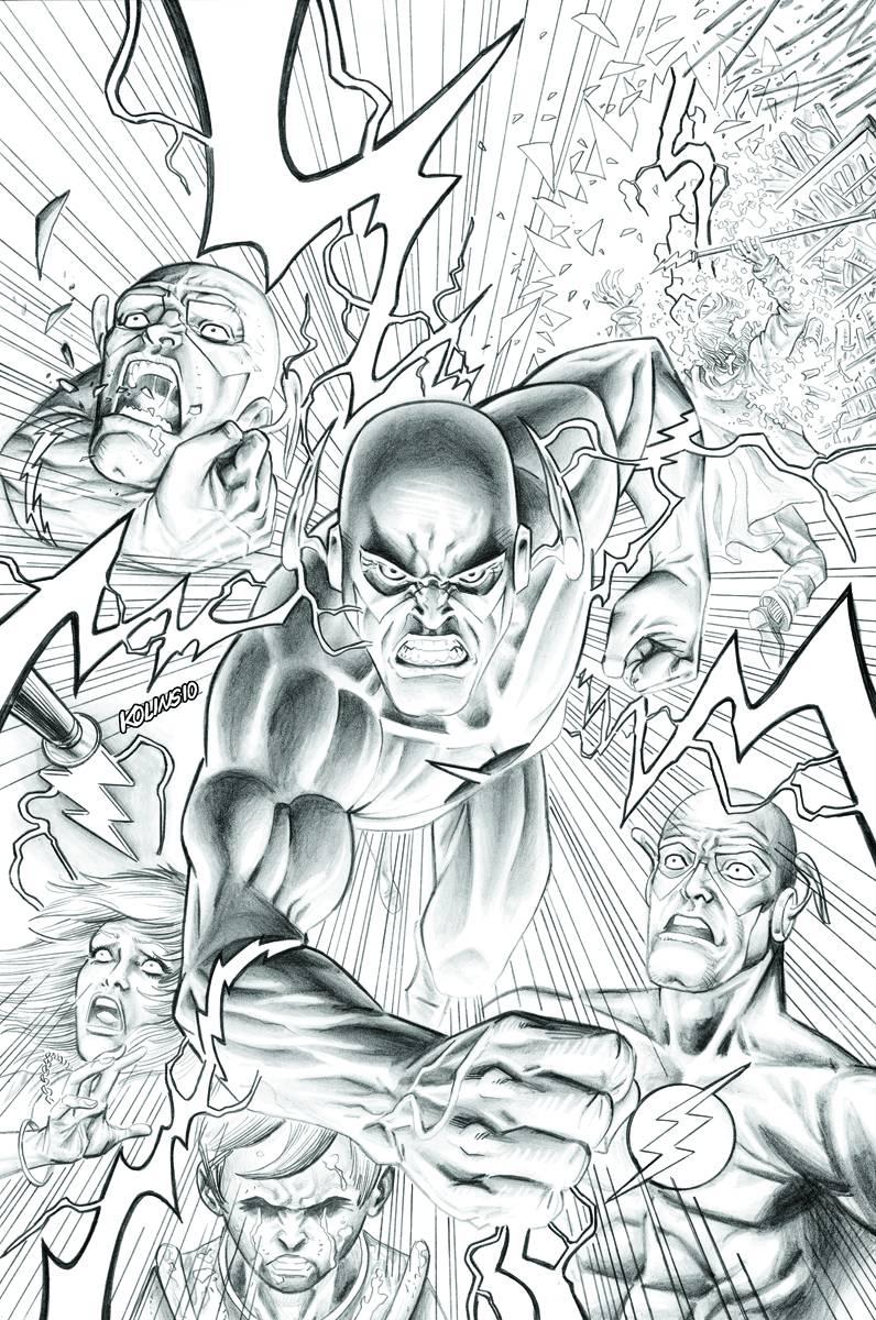 Flash (2010-2011) #8 [sep100206] Dc Comics-afficher Le Titre D'origine ArôMe Parfumé